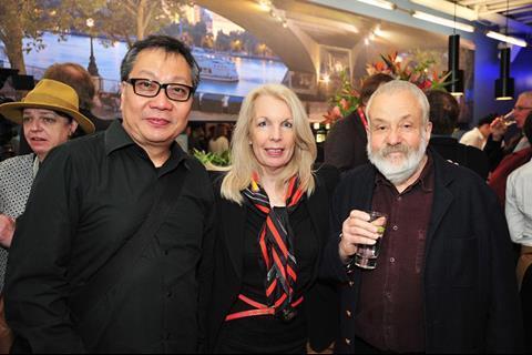 Jeffrey Chan, Amanda Nevill, Mike Leigh